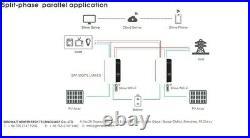 Growatt 48V 5000W 240V Off Grid Inverter 450V 48V 100A MPPT Split Phase Capable