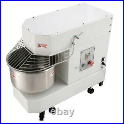 Hakka Commercial Dough Mixers 20 Quart Pizza Bakery Spiral Mixer DN20