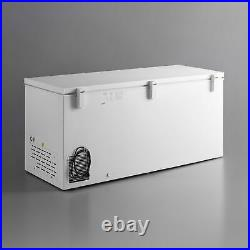 NEW 19.4 cu. Ft. White Commercial Solid Swing Door Chest Freezer, 110 Volt