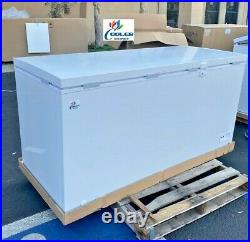 NEW 65 Solid Top Lock Chest Freezer Storage Cabinet NSF ETL Commercial XF-562