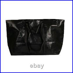 NWT OFF WHITE c/o VIRGIL ABLOH Black New Commercial Tote Bag $280