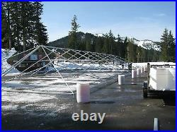 New 40'x120' Extra heavy duty, Commercial, Frame, Party, Tent George Maser