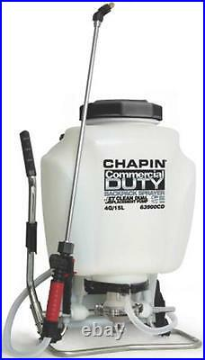New Chapin 63900 USA Made Commercial 4 Gallon Jet Clean Backpack Sprayer 6986582