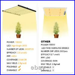 PHLIZON FC3000 4800 6500 Commercial LED Grow Light Bar Full Spectrum Hydro Lamp