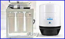 RO Light Commercial Reverse Osmosis Water Filter System 300 GPD RO Booster Pump