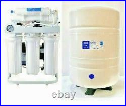 RO Light Commercial Reverse Osmosis Water Filter System 400 GPD- Booster Pump-10