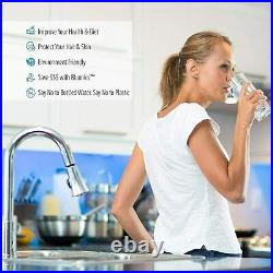 Reverse Osmosis Drinking Water System RO Home Purifier 100 GPD +EXTRA FILTER SET