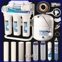 Reverse Osmosis Drinking Water System RO Sink Filter 100 GPD + EXTRA FILTER SET