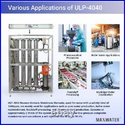 Reverse Osmosis ULP-4040 2200GPD 2600 GPD Commercial RO Membrane