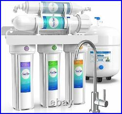 Reverse Osmosis Water Filtration System 5 Stage Under Sink RO Water Filter 75GPD