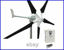 Set i-2000W 48V Windgenerator + Hybrid Charge Controller iSTA-BREEZE