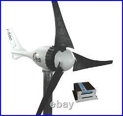 Set i-500W 12V Windgenerator + Hybrid Charge Controller iSTA-BREEZE