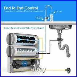 Simpure 400GPD Tankless RO Reverse Osmosis System Drinking Water Filter Purifier