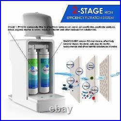 Smart UV Sterilize Reverse Osmosis Water Filter System Purifier Water Dispenser