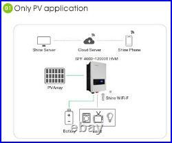 Special! 48V 6KW Growatt 6000T DVM Low Freq Split Phase 120/240VAC, 5KW 80A MPPT