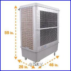 Swamp Cooler Evaporative Air Portable Commercial Fan 11000 CFM 3 Speed 3000 sqft