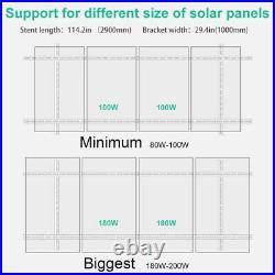 Tilt Mount Brackets Complete Solar Panel Adjustable Mounting Brackets System
