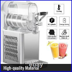 VEVOR Commercial Slushy Machine 3L Daiquiri Machine Frozen Drink Slush Machine