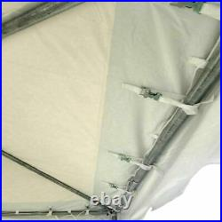 Weekender 20x20' West Coast Frame Tent Commercial White Vinyl Party Event Canopy