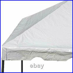 West Coast 15' x 15' Frame Tent Canopy White Waterproof Commercial Party Gazebo