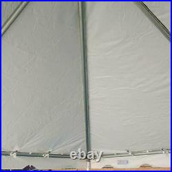 West Coast 20' x 40' Frame Tent Canopy White Waterproof Commercial Party Gazebo