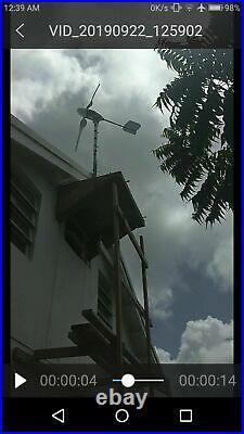 Wind Power 12 V DC Generator 400 Watt output
