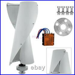 Wind Turbine Generator, 12V 400W Portable Vertical Helix Wind Power Generator Kit