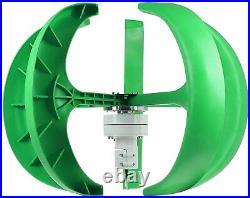 Wind Turbine Generator 9000W Lantern Wind Turbines Generator Vertical Axi 5 Blad