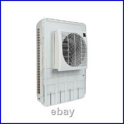 Window Swamp Cooler Slim Profile Evaporative 3200 CFM Commercial Fan 1600 sq ft